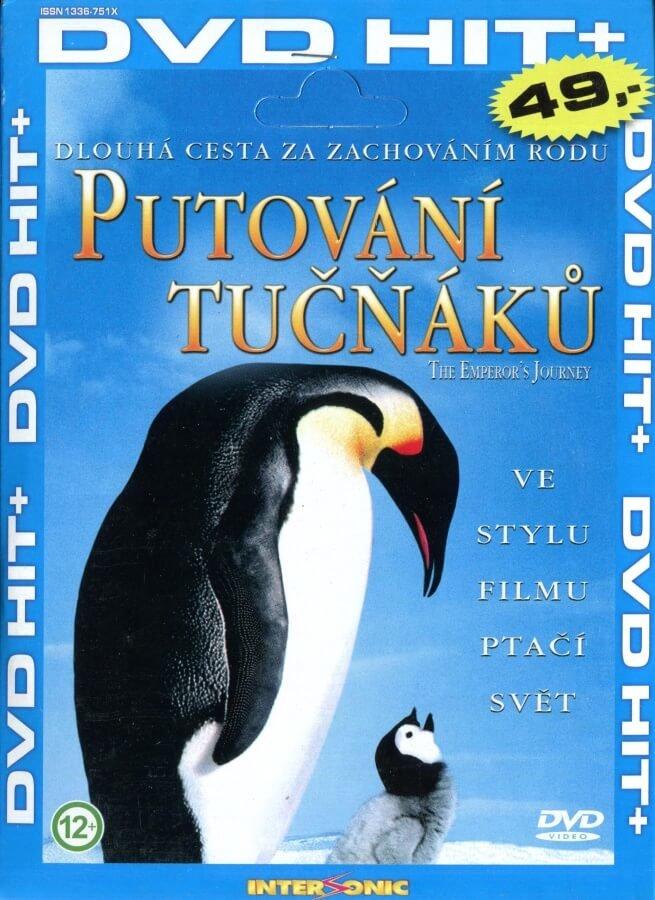 Putování tučňáků (DVD) (papírový obal)