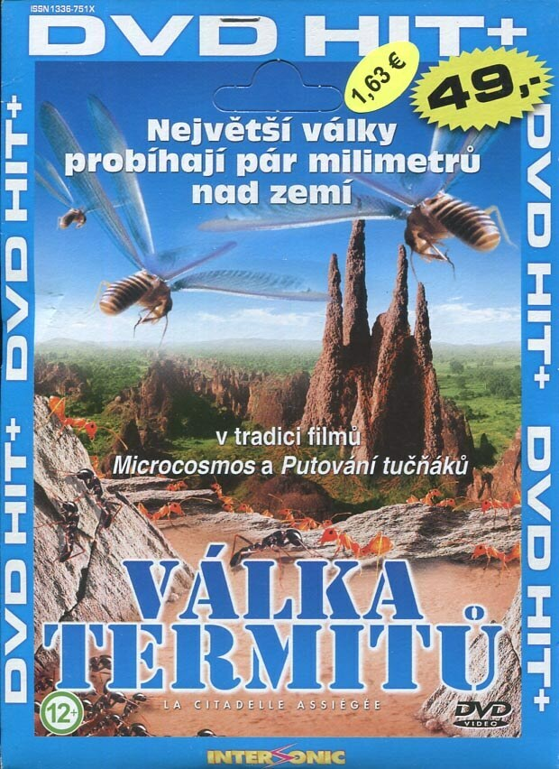 Válka termitů - edice DVD-HIT (DVD) (papírový obal)
