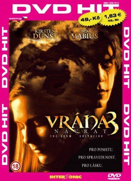 Vrána 3: Návrat - edice DVD-HIT (DVD) (papírový obal)