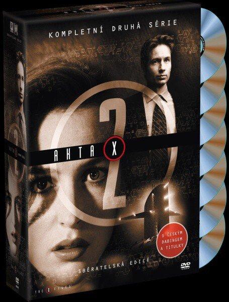 Akta X (Gillian Anderson, David Duchovny) - 2. sezóna 7xDVD