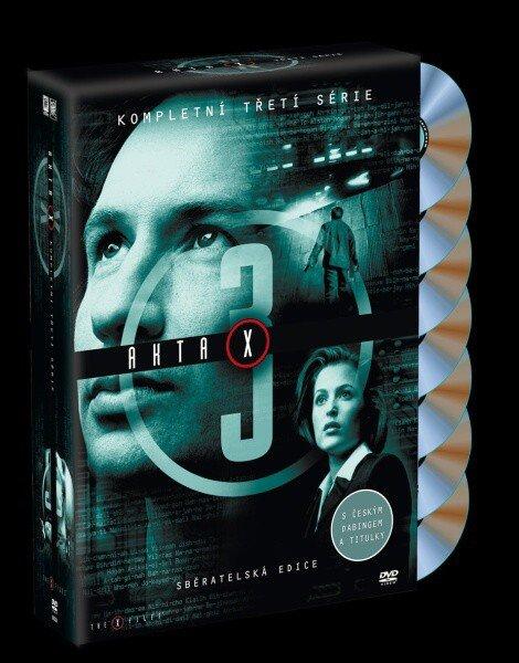 Akta X (Gillian Anderson, David Duchovny) - 3. sezóna 7xDVD