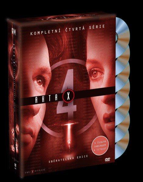 Akta X (Gillian Anderson, David Duchovny) - 4. sezóna 7xDVD