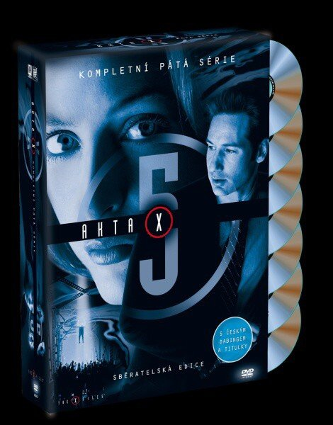 Akta X (Gillian Anderson, David Duchovny) - 5. sezóna 6xDVD