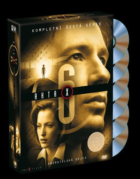 Akta X (Gillian Anderson, David Duchovny) - 6. sezóna 6xDVD