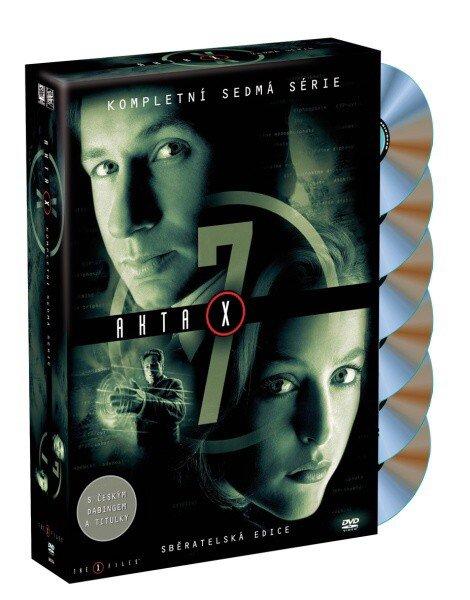Akta X (Gillian Anderson, David Duchovny) - 7. sezóna 6xDVD