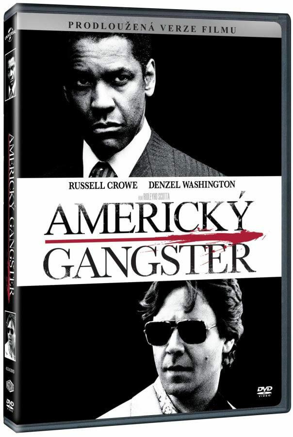 Americký gangster (DVD) - prodloužená verze