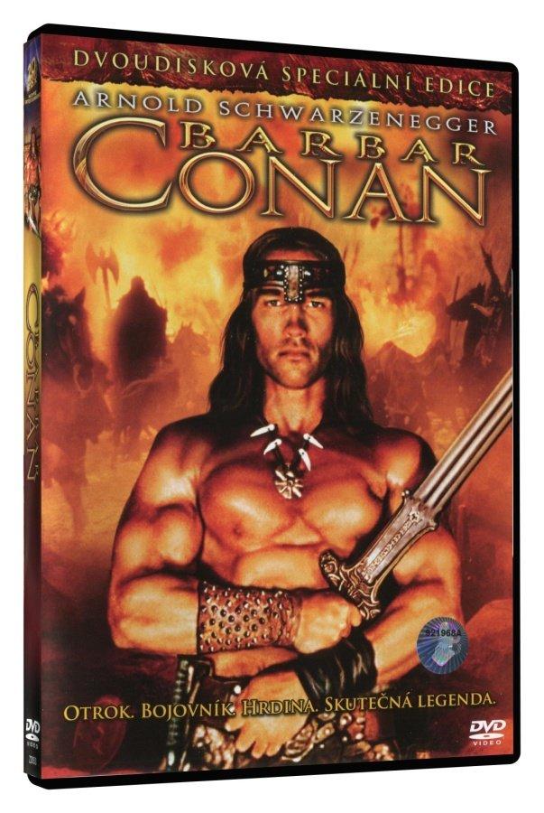 Barbar Conan (2xDVD) - speciální edice