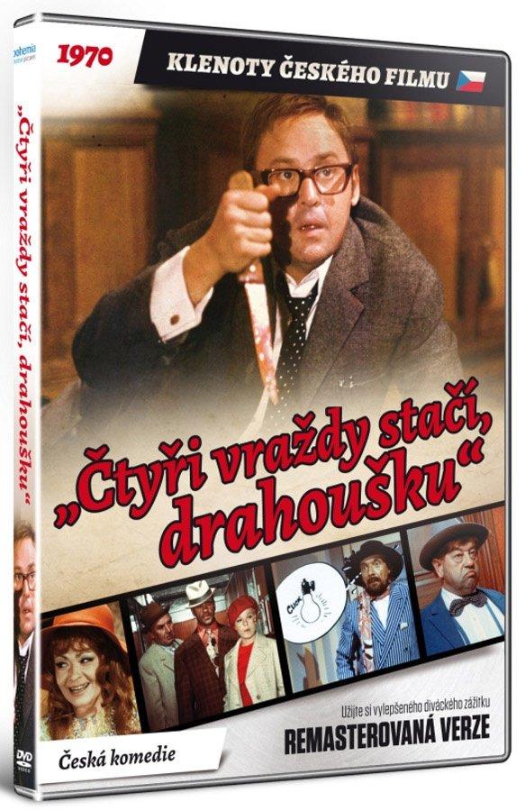 Čtyři vraždy stačí, drahoušku (DVD) - remasterovaná verze