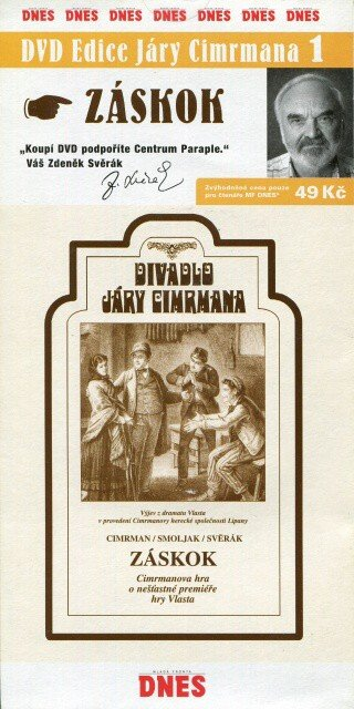 Divadlo Járy Cimrmana 1 - Záskok (DVD) (papírový obal)