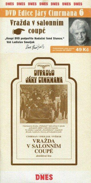 Divadlo Járy Cimrmana 6 - Vražda v salonním coupé (DVD) (papírový obal)