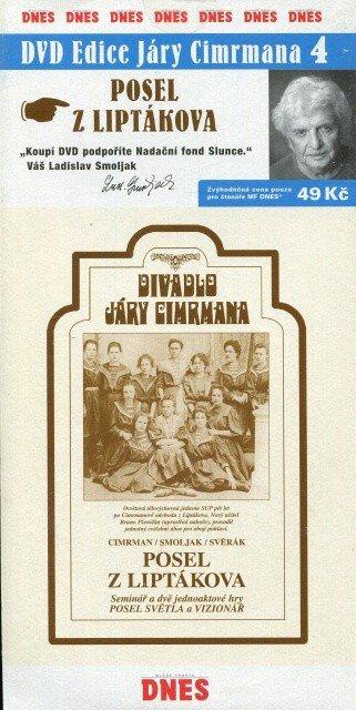 Divadlo Járy Cimrmana 4 - Posel z Liptákova (DVD) (papírový obal)