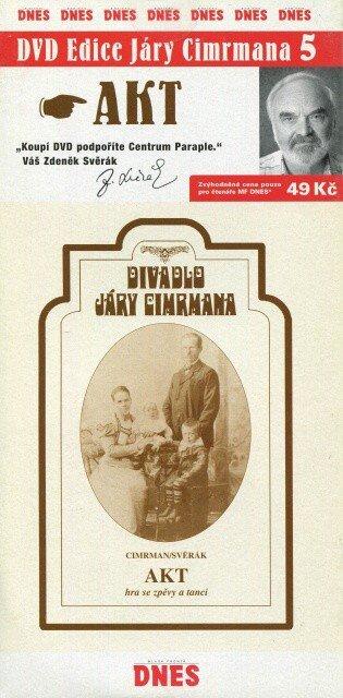 Divadlo Járy Cimrmana 5 - Akt (DVD) (papírový obal)