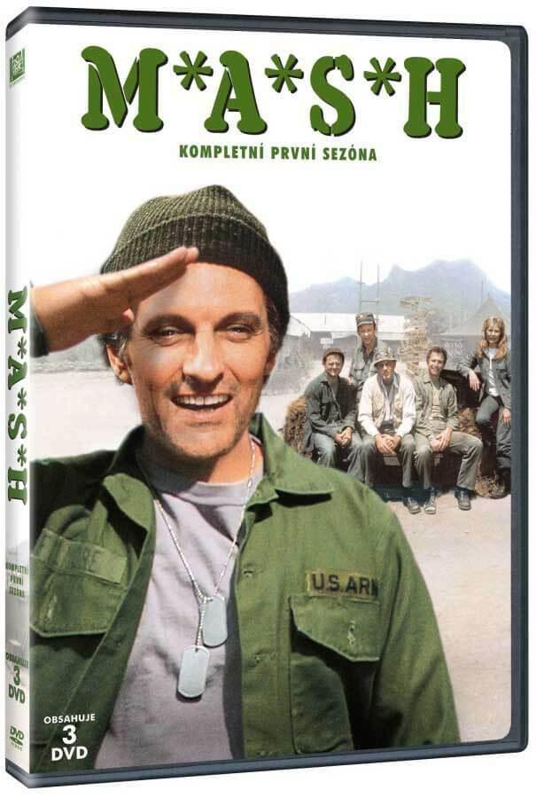 MASH - 1. sezóna (3 DVD)