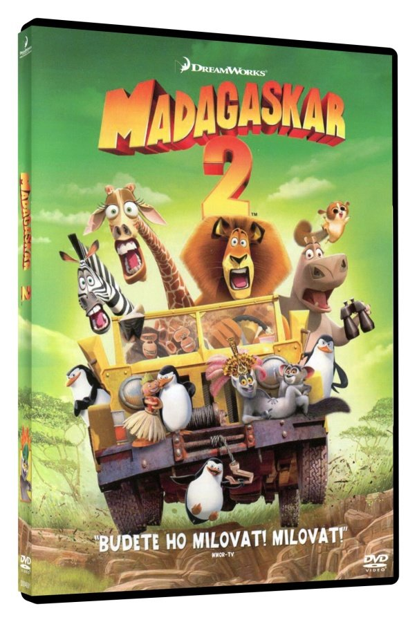 Madagaskar 2: Útěk do Afriky (DVD)