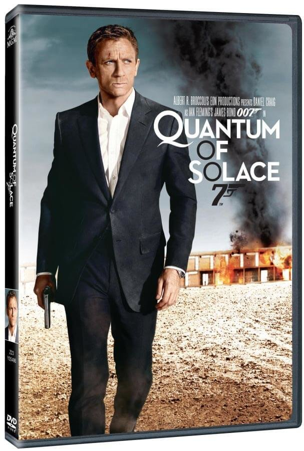 Quantum of Solace - 1xDVD