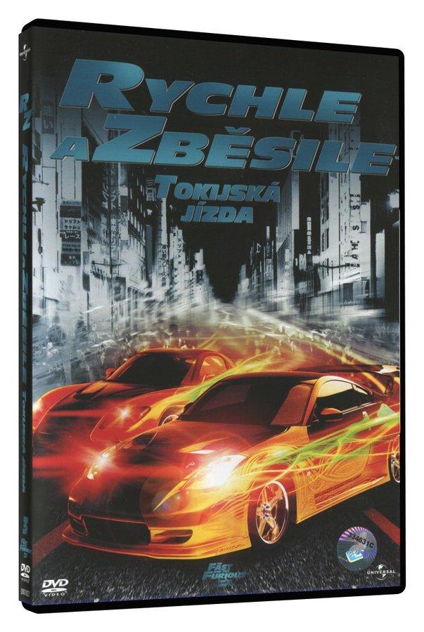 Rychle a zběsile 3: Tokijská jízda (DVD)