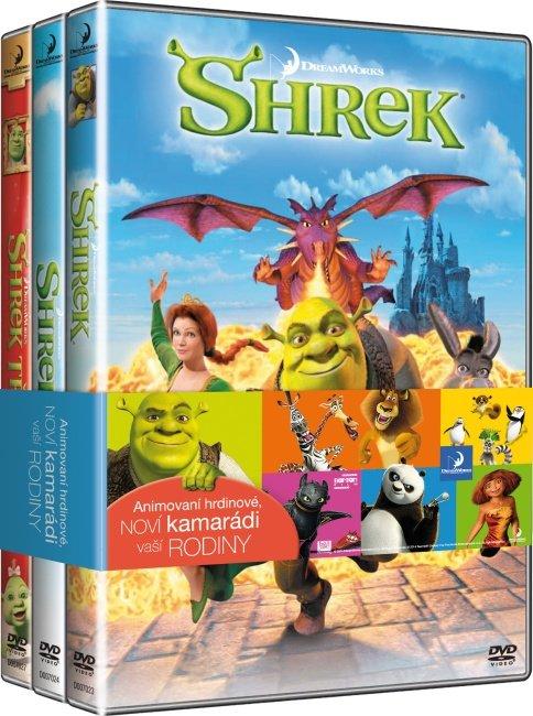 Shrek kolekce 1-4 (4 DVD)