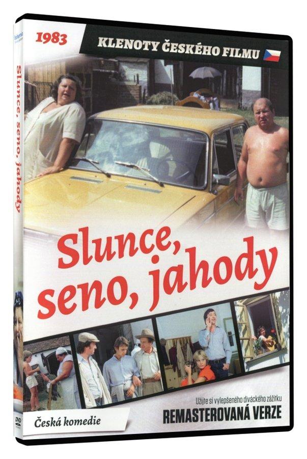 Slunce, seno, jahody (DVD) - remasterovaná verze