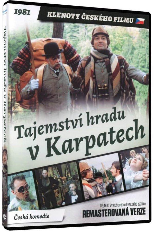 Tajemství hradu v Karpatech (DVD) - remasterovaná verze