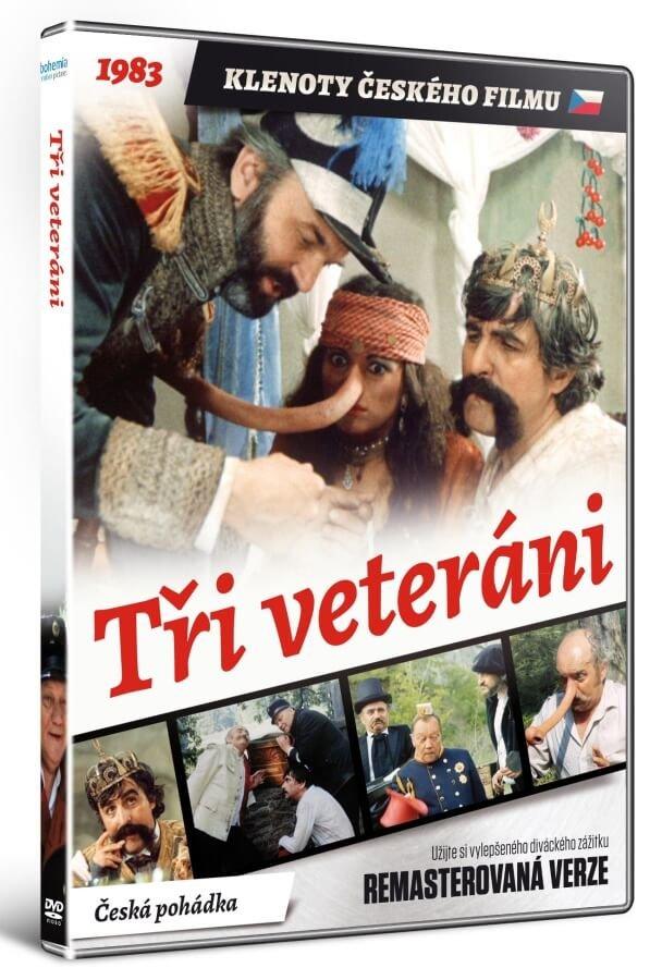 Tři veteráni (DVD) - remasterovaná verze
