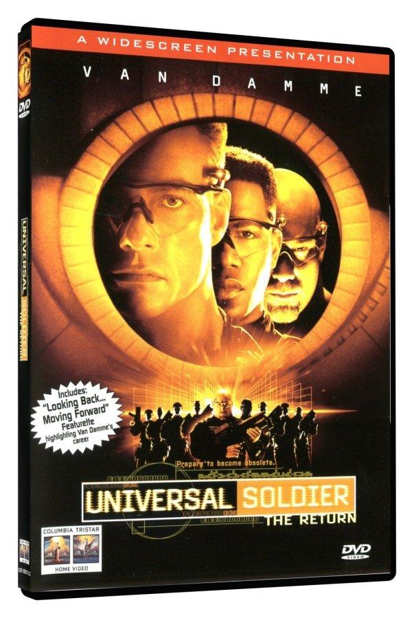 Univerzální voják - Zpět v akci (DVD)