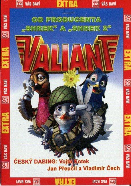Valiant (DVD) (papírový obal)