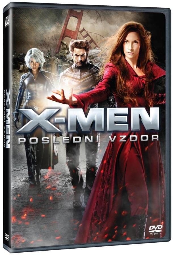 X-Men: Poslední vzdor (DVD)