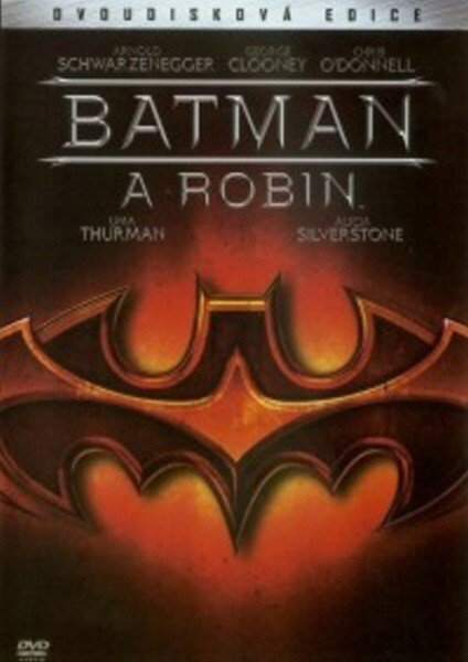 Batman a Robin - 2 DVD