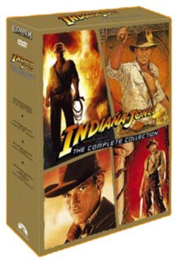 Indiana Jones kolekce - 4xDVD