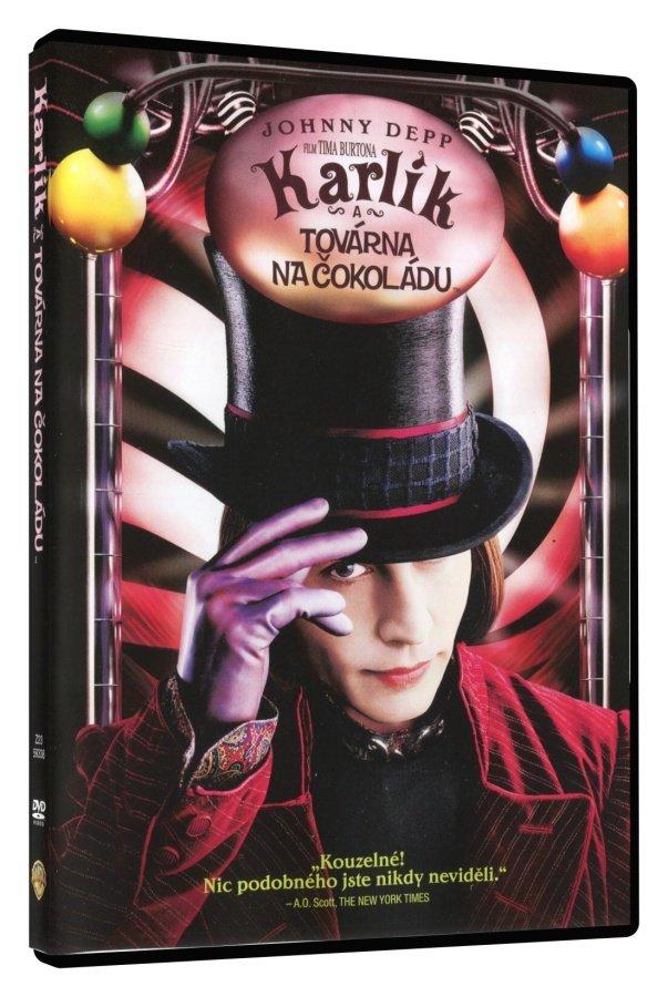Karlík a továrna na čokoládu (DVD)