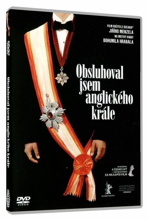 Obsluhoval jsem anglického krále (DVD)
