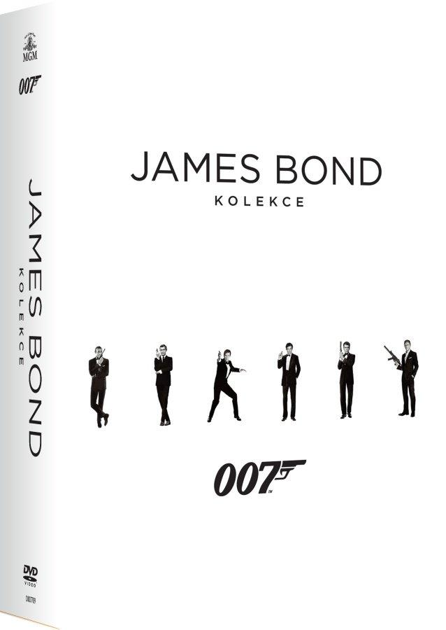 James Bond - Kompletní DVD kolekce (24 DVD)