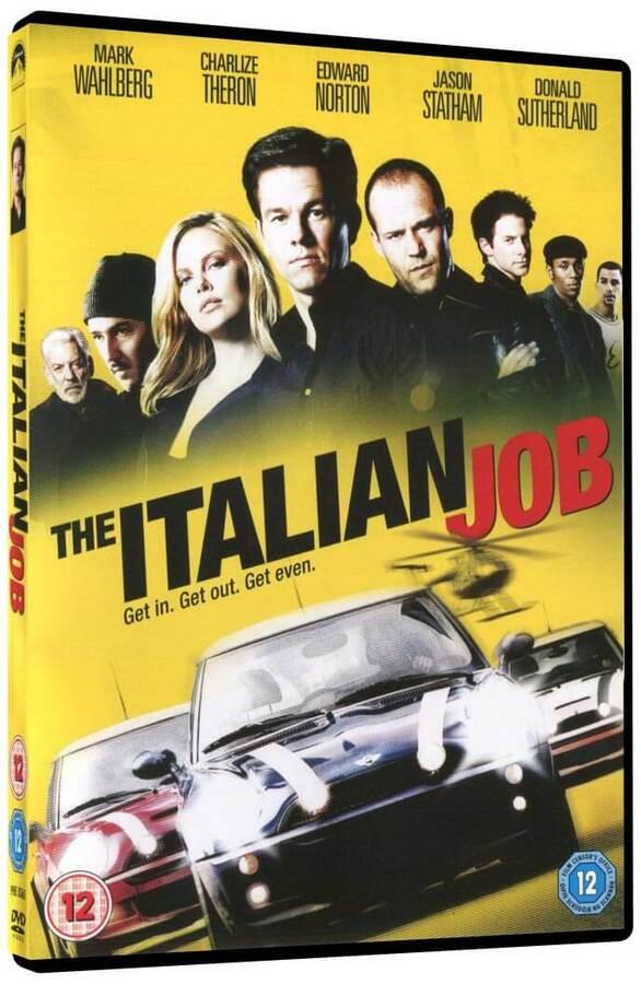 Loupež po italsku (2003) (DVD) - DOVOZ