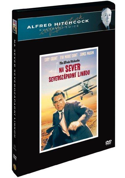 Na sever severozápadní linkou (DVD) - Alfred Hitchcock kultovní edice - české titulky