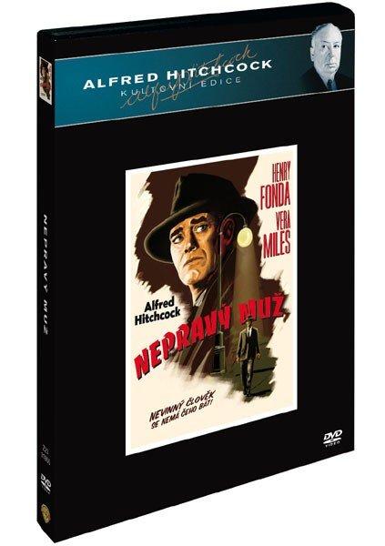 Nepravý muž (DVD) - Alfred Hitchcock kultovní edice - české titulky