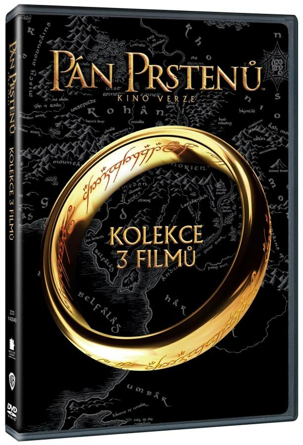 Pán prstenů TRILOGIE - 6xDVD - kino verze