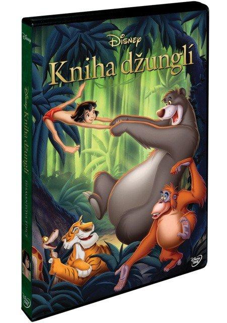 Kniha džunglí DE (DVD)