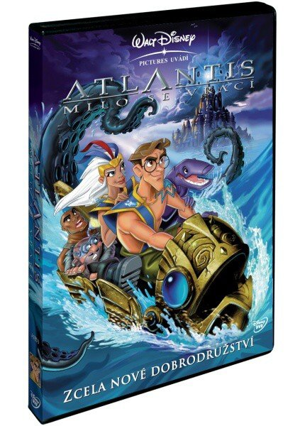 Atlantis: Milo se vrací (DVD)