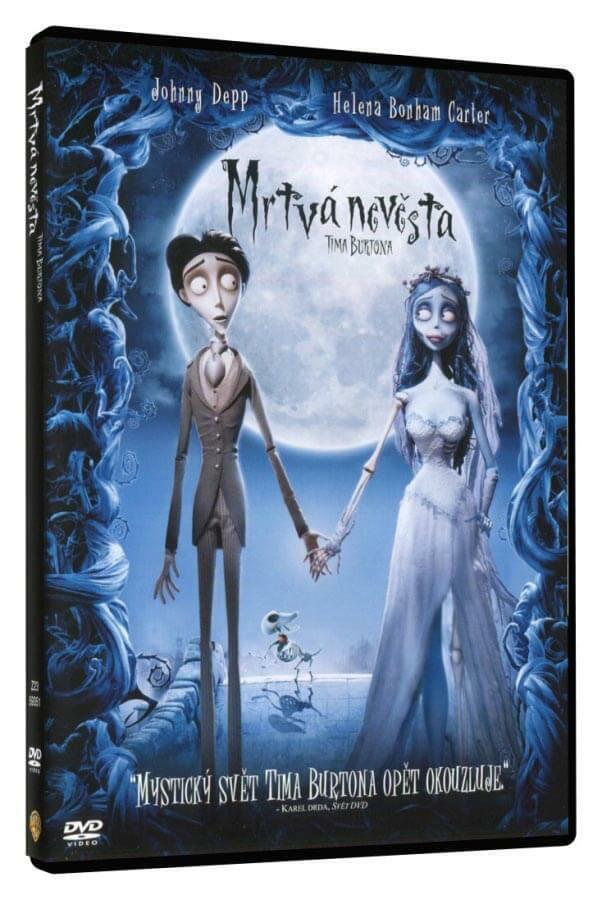 Mrtvá nevěsta Tima Burtona (DVD)