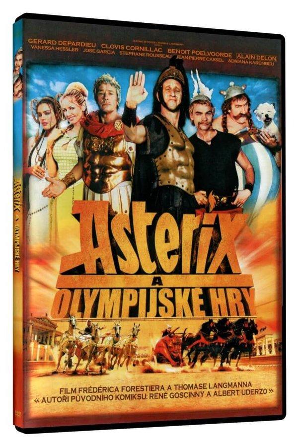 Asterix a Olympijské hry (DVD)