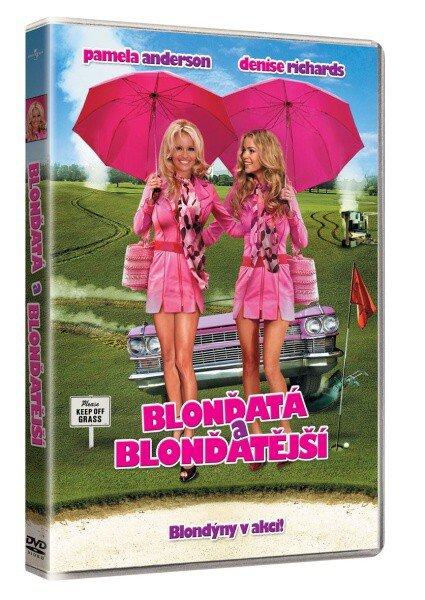 Blonďatá a blonďatější (DVD)