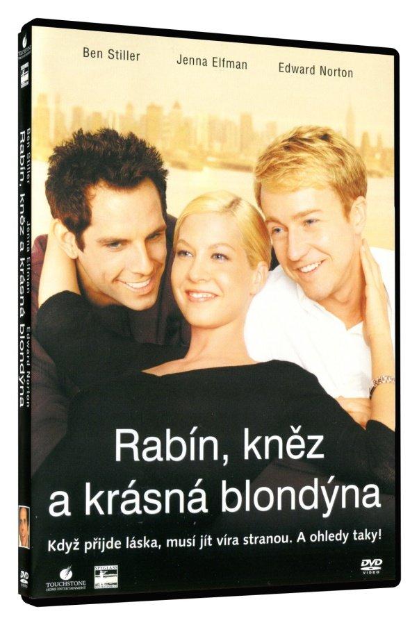 Rabín, kněz a krásná blondýna (DVD)