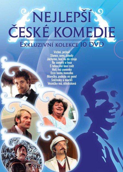 Nejlepší české komedie - 10xDVD