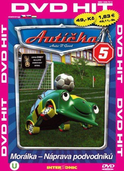 Autíčka 5 - edice DVD-HIT (DVD) (papírový obal)