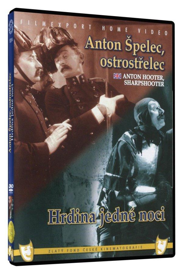 Anton Špelec ostrostřelec / Hrdina jedné noci (DVD)