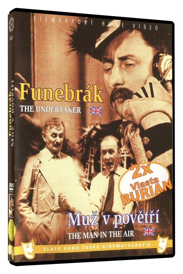 Funebrák / Muž v povětří (DVD)