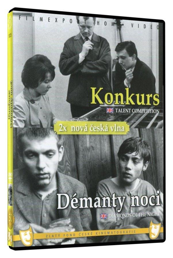 Konkurs / Démanty noci (DVD)
