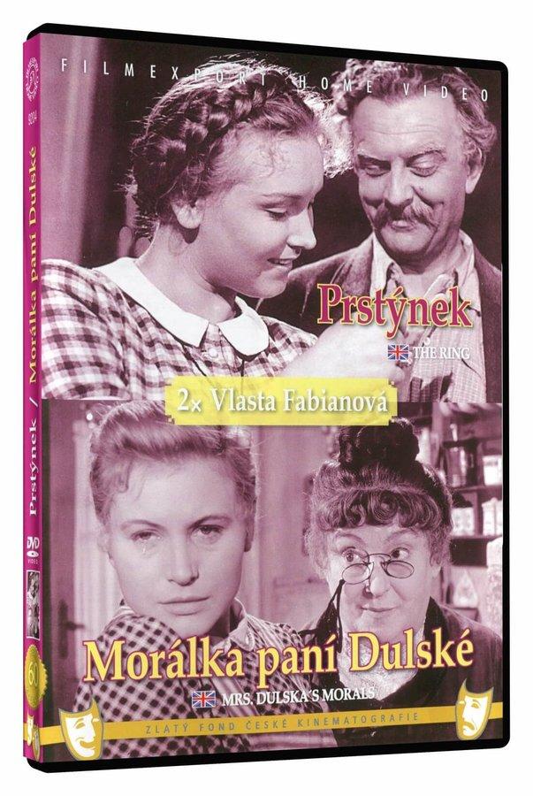 Prstýnek / Morálka paní Dulské (DVD)