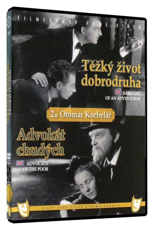 Těžký život dobrodruha / Advokátka chudých (DVD)