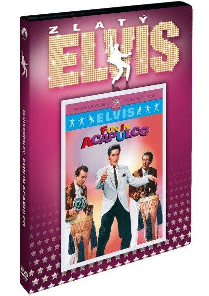 Elvis Presley: Fun in Acapulco - edice Zlatý Elvis (DVD) (pouze s českými titulky)